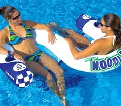 SportsStuff Noodler 2 Pool N' Beach Lounge Inflatable Water Tube Float Water Floats For Adults, Lake Floats, Lake Toys, Sup Surf, Lounge, Floating In Water, Cool Pools, Summer Fun, Summer Time