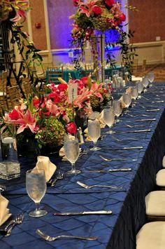 Reception Table | Dinner | A Magical Affair produced