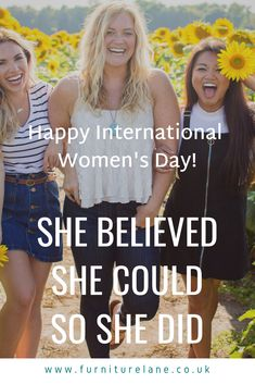 Being a woman is a terribly difficult task, since it consists principally in dealing with men. Happy International Women's Day, She Believed She Could, Joseph, Furniture Design, Woman, Stylish, News, Fashion Design