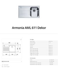 Armonia AML 611 Dekor franke   franke Armonia AML 611 Dekor