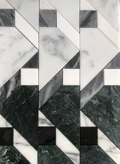 KELLY WEARSTLER X ANN SACKS. Liaison Lafayette Small marble tile