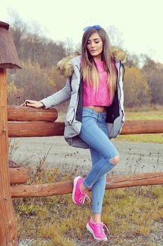 OUTFIT DEL DÍA: Pink Winter outfit, Look en rosado para invierno