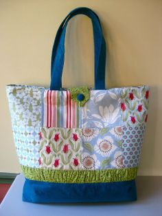 Charm pack tote bag tutorial   Sewn Up.