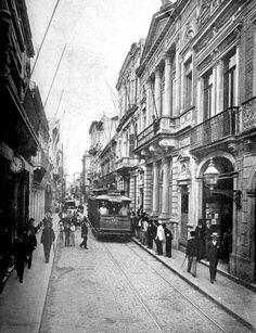 1909. São Paulo. Street São Bento