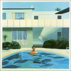 David Hockney Portrait of Nick Wilder, 1966. Acrylique sur toile, 183 x 183 cm
