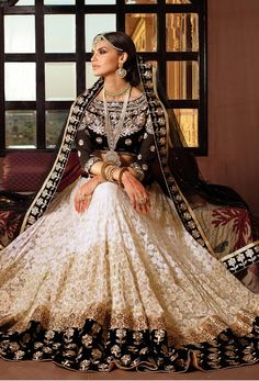 #Bring out your celebrity look with this  #offwhite #lehenga