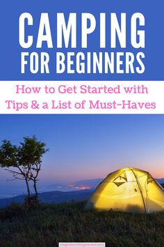 First time camping? You're going to love it! Use this camping for beginners guide for tips on essential gear and camping basics for a successful trip! Kayak Camping, Camping Tips, Outdoor Life, Outdoor Travel, Travel Guides, Travel Tips, Book Cheap Hotels, Camping First Aid Kit, Traveling Teacher