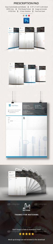 Prescription Pad on @codegrape. More Info: http://www.codegrape.com/item/prescription-pad/8781