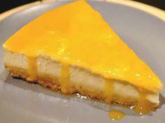 Cheesecake de Natas com Ovos-moles