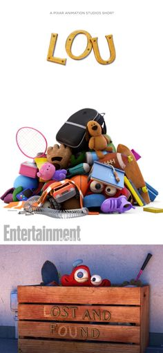 """Pixar's next short film Lou will air this summer with Cars 3. Lou is described as """"a strange little creature who inhabits an elementary school's Lost and Found box."""""""