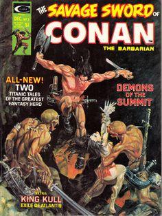 #3 The Savage Sword of Conan the Barbarian | Flickr - Photo Sharing!
