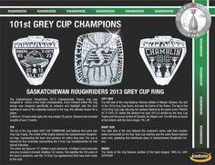 Saskatchewan Roughriders championship ring, got to hold one! Go Rider, Saskatchewan Roughriders, Grey Cup, Saskatchewan Canada, Championship Rings, Green Colors, Pride, Football, Colour
