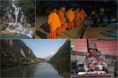 Laos w pigułce Luang Prabang, Laos, Backpacking, Travel Photography, Painting, Backpacker, Travel Backpack, Painting Art, Paintings
