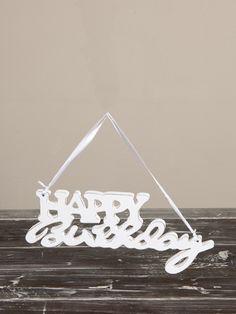 €9,95 Happy Birthday Doorhanger #living #interior #rivieramaison
