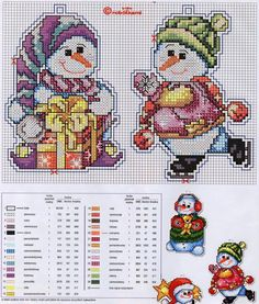 http://make-handmade.com/wp-content/uploads/2011/12/christmas-tree-ornament-crafts-snowman-cross-stitch-kits-make-handmade-7873b26df2dd2.jpg