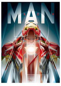 Iron Man - Vector TributeCreated by  Orlando Arocena