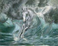 Kim McElroy. #HorseArt #Horse