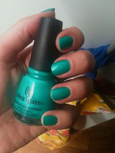 China Glaze, i think this is turned up turquoise! LOVE IT!