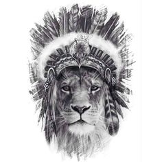 Head dress not lion Forarm Tattoos, Leo Tattoos, Animal Tattoos, Future Tattoos, Body Art Tattoos, Sleeve Tattoos, Tattoos For Guys, Wiccan Tattoos, Tattoos Skull