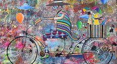 Alemão  Este renomado artista já participou de exposições por várias cidades do Brasil. Com expressões e traços leves arrojados, consegue transmitir sentimentos como alegria, perseverança, humildade, amizade e amor através de pinturas lúdicas e divertidas.