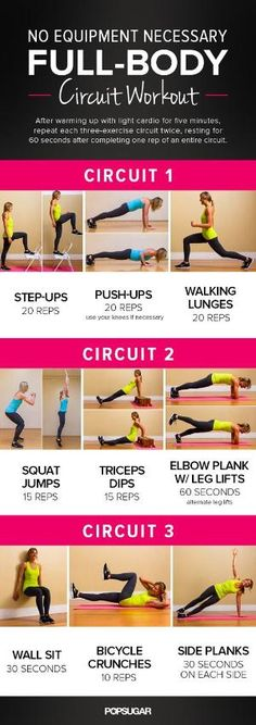 No Equipment Necessary, Full Body Circuit Workout! Definitely Gotta Try This! 👍 , No Equipment Necessary, Full Body Circuit Workout! Definitely Gotta Try This! Fitness Workouts, Fitness Motivation, Sport Fitness, Body Fitness, At Home Workouts, Health Fitness, Body Workouts, Workout Exercises, Fitness Equipment