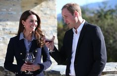 At the Misfield Winery in Queenstown, New Zealand, Kate Middleton and | Will and Kate's Cutest Snaps of the Year | POPSUGAR Celebrity Photo 9