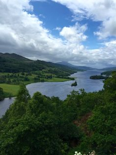 The Queens View.... Pitlochry, Scotland.... ~Kristine Gray