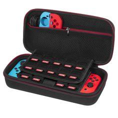 Nintendo Switch Case Upgrade Version Hard Travel Carrying Case Larger Storage    eBay