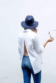 DIY Open Back Shirt