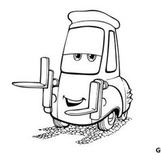 Disney cars coloring pages king mrs ~ printable lightning mcqueen coloring pages - Free Large ...