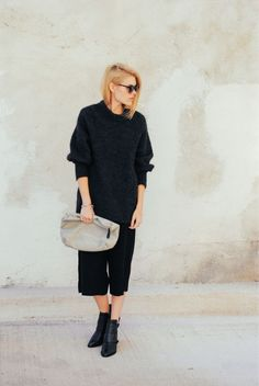 All Black Outfit Inspiration For Women #fashion #street #style