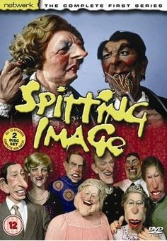 Spitting Image - The best of British comedy! Need to bring this back, with the Brexit & EU Ref, going ons! Would make an absolute fortune, at the moment. Who was part of the 'Raving Monster Looney Party?' Oh the chicken in the air. 1980s Childhood, My Childhood Memories, Memories Jar, Sweet Memories, Radios, Spitting Image, British Comedy, British Sitcoms, Vintage Television