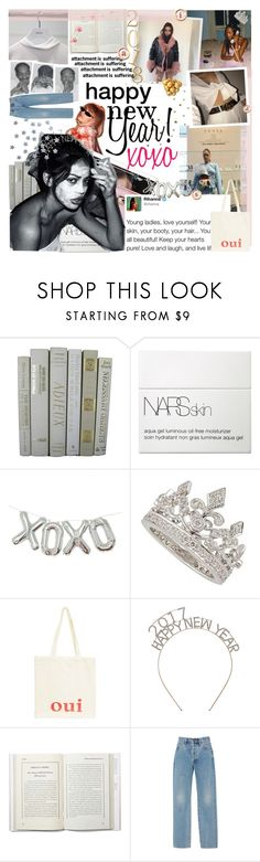 """HAPPY NEW YEARS EVE ANGELS!"" by sabad ❤ liked on Polyvore featuring NARS Cosmetics, Urban Outfitters, Oui and Alix"