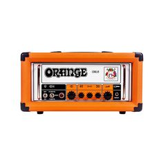 In 1972 Orange launched a British guitar amp that defined their sound. It was dubbed the  áPics Only'. Orange Amplification celebrated their 40th anniversary in 2008 with the issue of an extremely limited edition amp: the OR50H. Due to overwhelming public demand, Orange Amplification have decided to re-introduce it while adding a 15 and 7 watt version   the OR15H   to the 2012 OR Series. Only pictures are used on the front panel of the amp. The OR15H owes more than a nod to this vintage ...