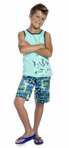 2db9d7efd ... Boys Hawaiian Shirt. Matching Hawaiian Clohthing for Family. See more.  Beach Boy Outfit. Featuring our fish and stripes 2 pack tank in a light blue
