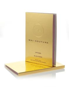 Mai Couture Blush Papier Booklet  by Mai Couture at Bergdorf Goodman.