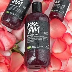 LUSH Cosmetics - Rose Jam shower gel. Looooove it!
