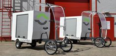 """Elongate the body and add solar panels for a heat and cool source, and you have a mobile """"home"""" for the homeless.Every city could have thousands of these and old parking lots could become homeless mobile home parks with garden plots, central bathing/ toilets trucks, and of course food trucks. A basket/seat needs to be added for a large pet or companion. Also could be used in disaster relief."""