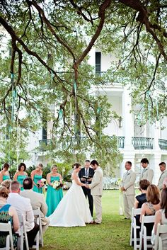 Nottoway Plantation Wedding from Stevie Ramos Photography | Style Me Pretty