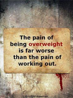 Exercises are priceless. The benefits outweigh the pain.
