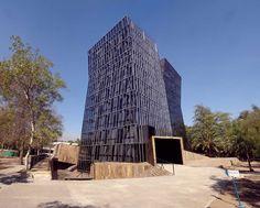 Siamese Towers in Santiago by Alejandro Aravena