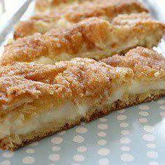 Pillsbury's crescent rolls make it easy for these tasty cream cheese treats.