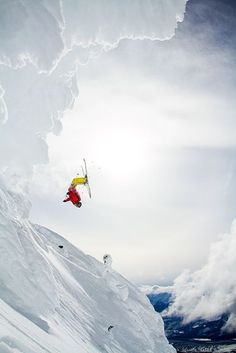 Picture of Carter McMillan skiing, Revelstoke Mountain Resort Backcountry ,British Columbia
