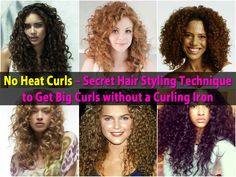 Big curls are great if you have longer hair but using a curling iron regularly is not so great. Too much heat can damage your hair. If you want really big curls but you want to keep your hair healthy, this tutorial is for you. It will teach you how to create big curls by using twisted buns or...