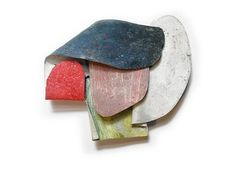 DAVID NEALE, BROOCH enamored with the way he expresses himself, both with words and with such raw pieces. Enamel Jewelry, Metal Jewelry, Jewelry Art, Jewelry Design, Contemporary Jewellery, Modern Jewelry, Maxi Collar, Mixed Media Jewelry, Shape And Form