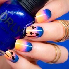 tropical nails 4