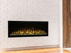 "Modern Flames 4 Piece Canyon Driftwood Log Set - For 50"" Spectrum Slimline Fireplaces Gas Fire Pit Kit, Natural Gas Fire Pit, Fire Pits, Gas Fireplaces For Sale, Classic Fireplace, Driftwood, Modern, Gas Fireplaces, Campfires"