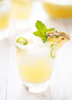 Refreshing Pineapple Jalapeño Sangria