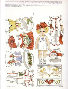 Paper Doll Greeting Cards by Peggy Jo