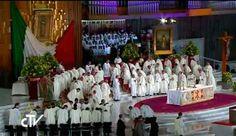 Papa Francisco en México: Homilía en la Santa Misa celebrada en la Basílica de Guadalupe